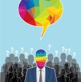 Comunicación mundial y medios concepto social, idea