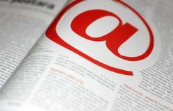 @ comunicación moderna Foto de archivo libre de regalías