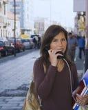 Comunicación urbana Imagen de archivo libre de regalías