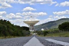 Comunicaciones de espacio profundo complejas Imágenes de archivo libres de regalías