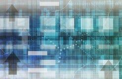Comunicaciones de la tecnología Imagen de archivo libre de regalías
