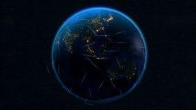 Comunicaciones de la tierra ilustración del vector