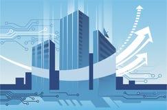 Comunicaciones empresariales stock de ilustración