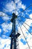 Comunicaciones en el cielo Imagen de archivo libre de regalías