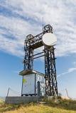 Comunicaciones en la mucha altitud Fotos de archivo