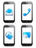 Comunicaciones móviles Foto de archivo libre de regalías