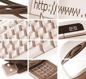 Comunicaciones y composición de la tecnología Foto de archivo libre de regalías