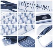 Comunicações e tecnologia Fotos de Stock Royalty Free