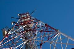 comunication κεραιών Στοκ εικόνα με δικαίωμα ελεύθερης χρήσης