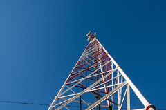 Comunication antenna Royalty Free Stock Image