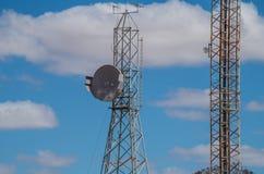 Comunication Towers Royalty Free Stock Photo