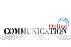 Comunicazione 3D Immagini Stock Libere da Diritti
