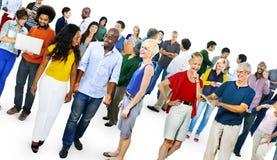 Comunicazione casuale Team Friendship Concept della Comunità Immagine Stock