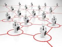 Comunicazione commerciale Immagine Stock