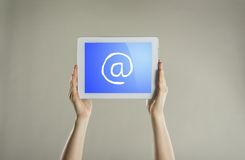 Comunicazione di Internet fotografia stock libera da diritti