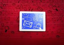 Comunicazione di Internet royalty illustrazione gratis