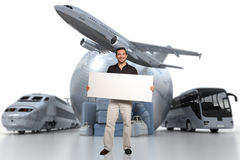 Comunicazione di viaggio Fotografia Stock