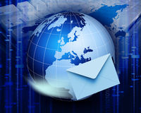 Comunicazione globale Immagini Stock Libere da Diritti