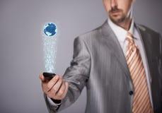 Comunicazione globale Immagine Stock