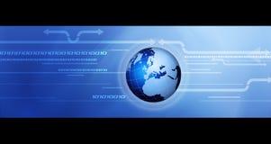Comunicazione globale. Immagine Stock