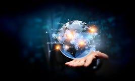 Comunicazione globale ed associazione Immagine Stock