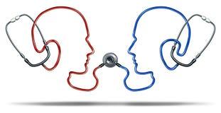 Comunicazione medica Immagini Stock Libere da Diritti