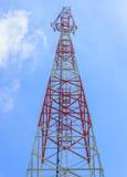 Comunicazione mobile della torre Immagini Stock Libere da Diritti