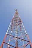 Comunicazione mobile della torretta Fotografie Stock