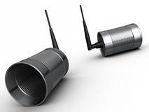 Comunicazione senza fili Fotografia Stock