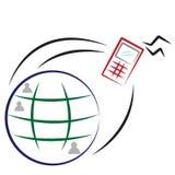 Comunicazione su mezzi mobili Immagine Stock Libera da Diritti