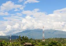 COMUNICAZIONE TOWER-1 Immagine Stock