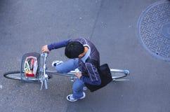 Comunicazione urbana Fotografia Stock