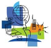 Comunicazioni Fotografie Stock