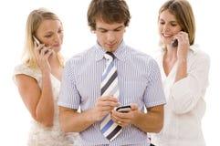 Comunicazioni commerciali Immagine Stock