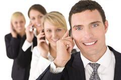 Comunicazioni commerciali Immagini Stock