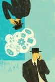 Comunicazioni di B2B illustrazione vettoriale
