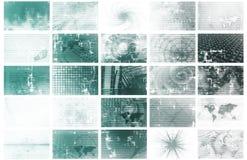 Comunicazioni di massa illustrazione vettoriale