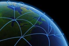 Comunicazioni globali Fotografia Stock