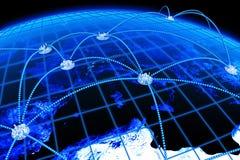 Comunicazioni globali Immagine Stock Libera da Diritti