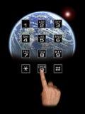 Comunicazioni globali Fotografia Stock Libera da Diritti