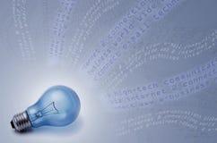 Comunicazioni globali e tecnologia illustrazione di stock