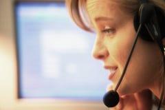 Comunicazioni negli uffici Fotografie Stock Libere da Diritti