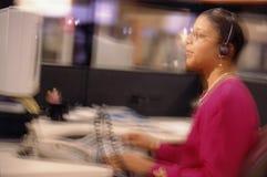 Comunicazioni negli uffici Fotografia Stock