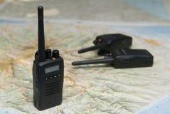 Comunicazioni senza fili radiofoniche Fotografia Stock Libera da Diritti