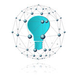 Comunicazioni settore e luce Illustrazione di Stock