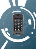Comunicazioni su mezzi mobili Fotografie Stock