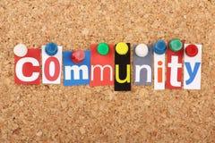 Comunidad Fotografía de archivo