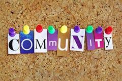 Comunidad Fotos de archivo