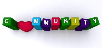 comunidad Imagen de archivo libre de regalías