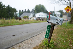 Comunidad agrícola de Amish Imágenes de archivo libres de regalías